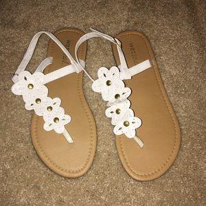 Flower Wet Seal Sandals